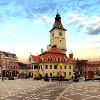 'Vibrating in Old Brasov'