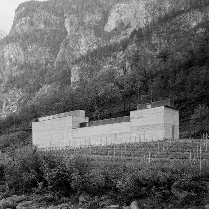 Architecture on Stage: Peter Märkli. Peter Märkli, LaCongiunta © Heinrich Helfenstein