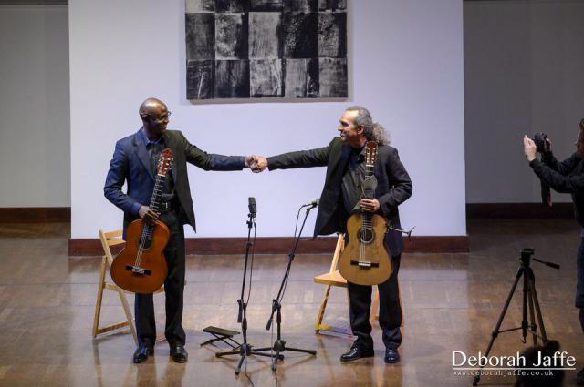 Guitarrísimo: Eduardo Martín & Ahmed Dickinson Cárdenas