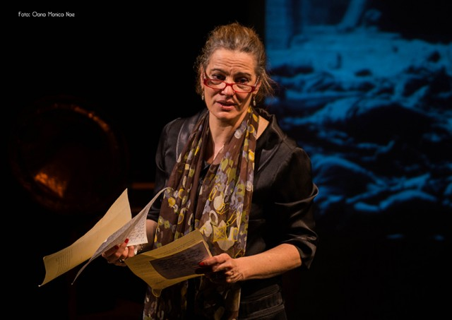 "Maia Morgenstern in ""Janka"" at the Romanian Cultural Institute"