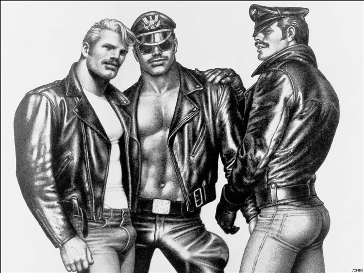 from Draven drawings of tom of finland gay
