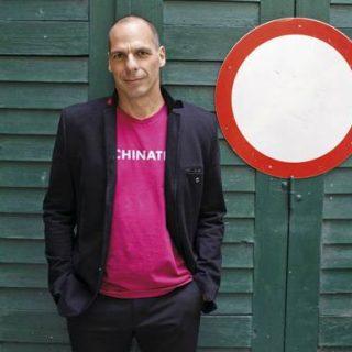 Yianis Varoufakis at Edinburgh International Book Festival