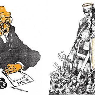 100 Years of Latvia's History in Cartoons