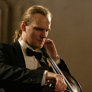 Czech Cellist Frantisek Brikcius in London
