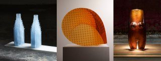 Glass Rituals: Galerie Kuzebauch at Collect 2019