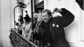 1989 The Velvet Revolution: The End of the Totalitarian Regime in Czechoslovakia