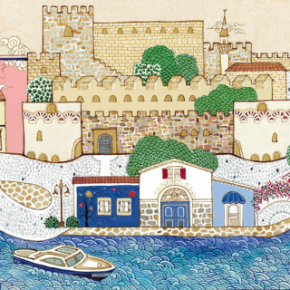 Illustrating London with Ottoman Miniature