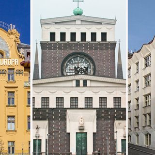 ZOOM LECTURE: East goes East – John East will guide us through significant 20th-century buildings in the Czech lands