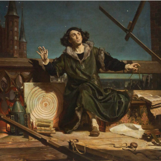 Conversations with God: Copernicus by Jan Matejko