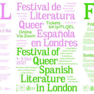 The Festival of Queer Spanish Literature in London – FQSLL